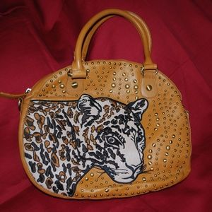 Gorgeous Sharif Leopard Purse - EUC
